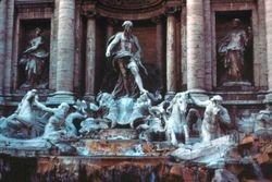 Fountain of Trevi - Rome, Italy