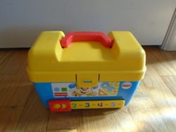 Fisher Price Laugh & Learn Smart Stages Toolbox - $12