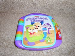 Fisher Price Laugh & Learn Storybook Rhymes - $9