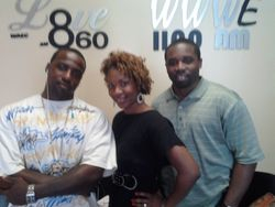 Courtney, Black Mike Wells, and Marvin.