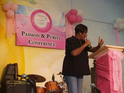 Our PP Girl's Conference -Wolmer's -Sept. 2008