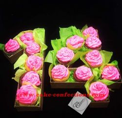 Number Cupcake Bouquet