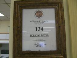 134  MAXIMAM CAPACITY