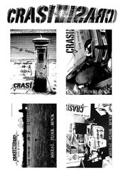 Flyers for 'Crash' club night, Norwich