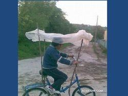 """de """"regen"""" fiets"""