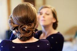 vintage pinned curl's
