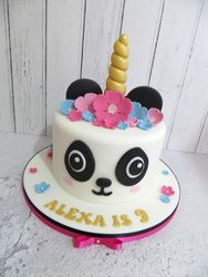Pandacorn Birthday Cake