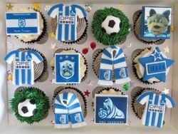 HTAFC cupcakes