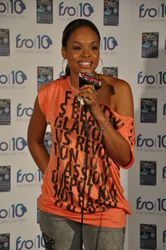 Demetria McKinney In The Green Room @ For Sister's Only Event