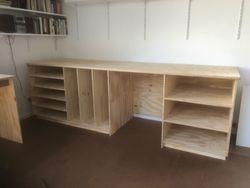 Artist's Storage Shelves