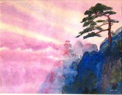 Cloudscape in HuangShan ,China