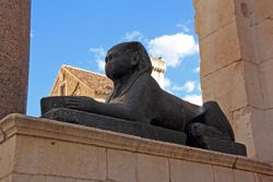 Ancient Sphinx in Split
