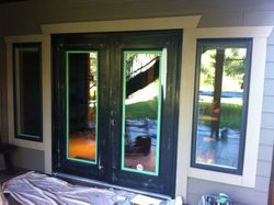 Exterior Residential Door and trim  Painting/Staining