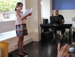 Summer Vocal Intensive, Summer 2009