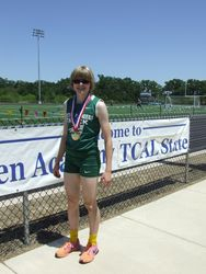 Two time Gold Medalist, State TCAL