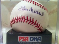 Stan Musial autographed, MLB Selig baseball PSA #G47429, Grade Perfect 10      Enlarge          Sell one like this   Stan Musial autographed, MLB Selig baseball PSA #G47429, Grade Perfect 10