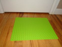 LEGO DUPLO Large Green Building Plate 2304 - $10