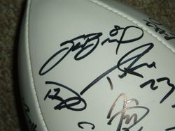2010 NFL PLAYERS Rookie Premiere Signed UDA Football Sam Bradford , Ndamukong Suh ROY