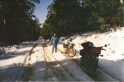 1993 Henning enjoying it