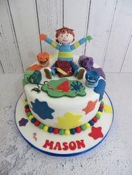 Mason's 4th Birthday Cake