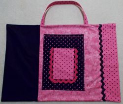 Pillow case car travel tote