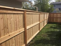 cedar fortress two fence
