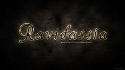 Perfect golden text effect - Ravidassia Wallpaper