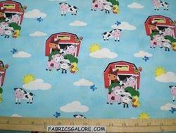 BARNS & FARM ANIMALS B8 COTTON