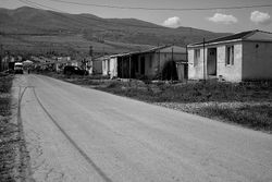 The refugees people from Abkhazia and south Ossetia