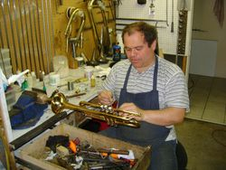 Repairing a Trumpet