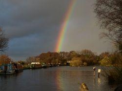 Another November rainbow!