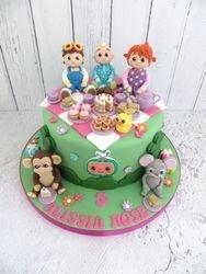 Picnic themed Birthday Cake