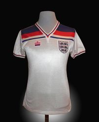 Admiral Match Worn England Graham Rix Shirt 1982