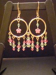 Pink Flower Power (Item #3023)  $15.00