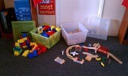 Blocks and Train Set