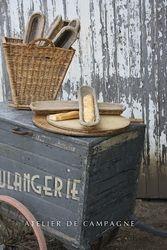 SOLD  #21/069 Boulangerie Cart  detail 1 SOLD