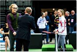 Tomas Berdych and Petra Kivota