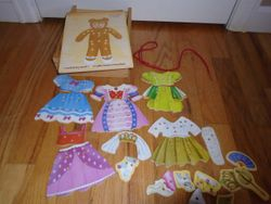 Melissa & Doug Lacing Bear Princess - $10
