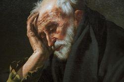 TerBrugghen, Penitent St Jerome, detail, Cleveland