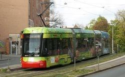 Variobahn #1207 departing Tiergartnertor
