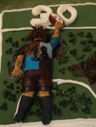 Rugby Goal Birthday