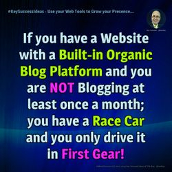#KeyWorkshops - Use your Web Tools to Grow your Presence...