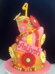 Topsy Turvy Cake 1 (B012)
