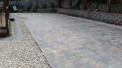 Beaverton paver stone patio installation