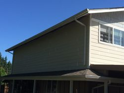 Completed siding job