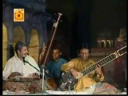 Ustad Rashid Khan with Ustad Shahid Parwez