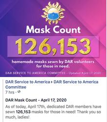 April 17th, 2020 - 126,153 Masks Made