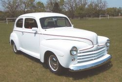 Ken Bauscher's 1948 Ford
