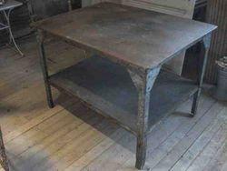 #13/204 Metal Industrial Table SOLD
