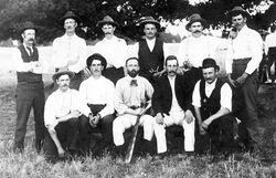 Linton Cricket Club, early 1900's